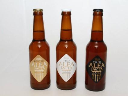 Nuestras cervezas Alea Jacta