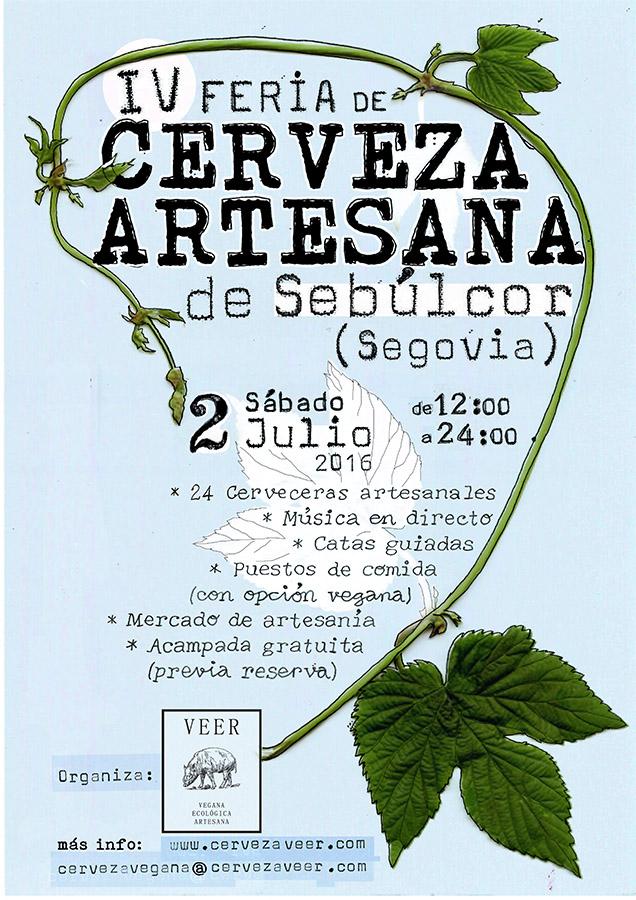 Cartel Feria Sebulcor 2016
