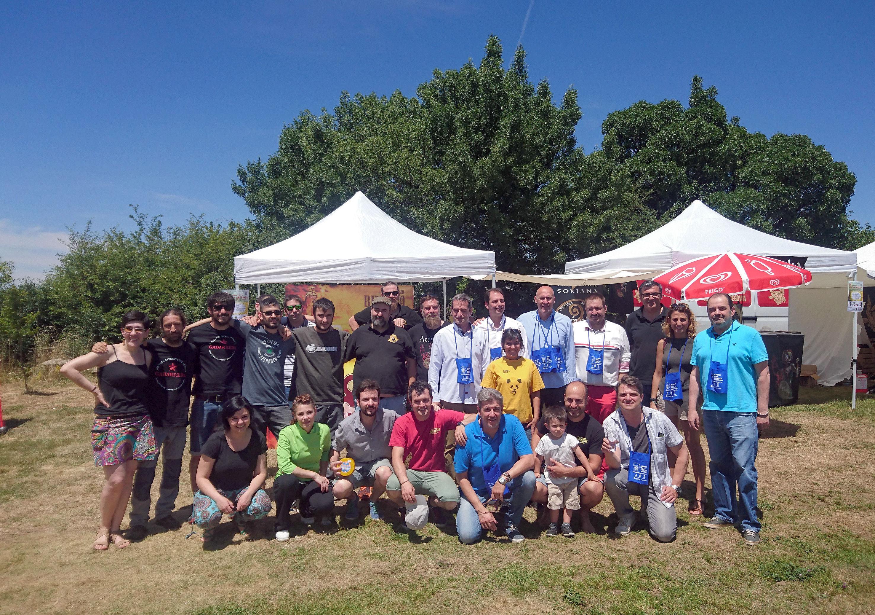 II Feria Cerveza Artesana San Cristobal - Segovia 2017 - grupo